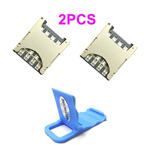 2 x SIM Card Reader Holder Tray for Motorola Moto G4 / G4 Plus + PHONSUN Portable Cellphone Holder from PHONSUN
