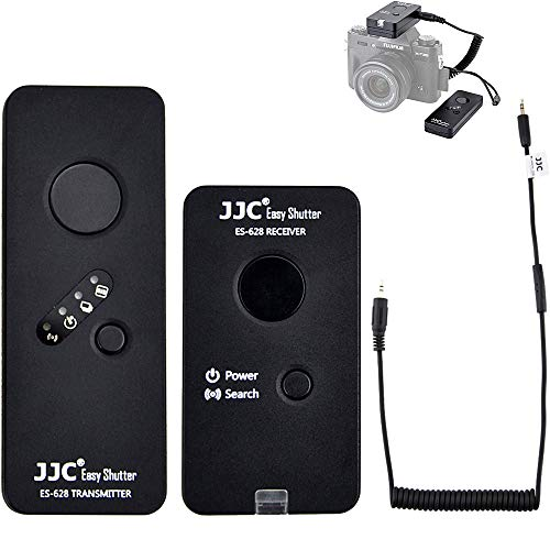JJC Wired Wireless Camera Shutter Release Remote Control RR-100 Replacement for Fuji Fujifilm X-T3 GFX 50S GFX50R X-H1 X-Pro2 X-T2 X-T1 X-T20 X-T10 X-T100 X-E3 X-E2S X-A5 X-A10 X100F X100T X70 XF10