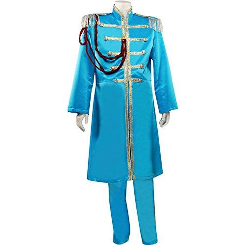 Men's Large Blue Beatles Sgt. Pepper's Costume (Sgt Pepper Costume)