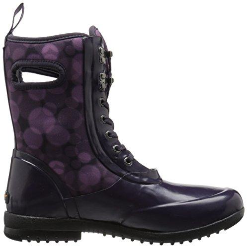 Bogs Women's Wellington Boots Eggplant Multi 66b1J0