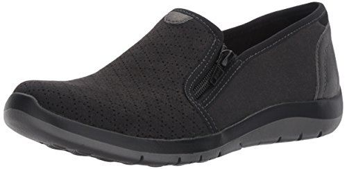 Sneaker Women Aravon Side Wembly Zip Black Fashion dSpqaXxqw