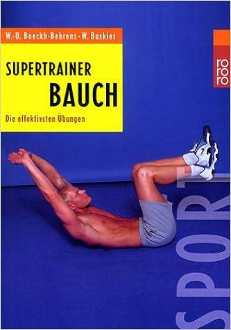 Übungen Bauch