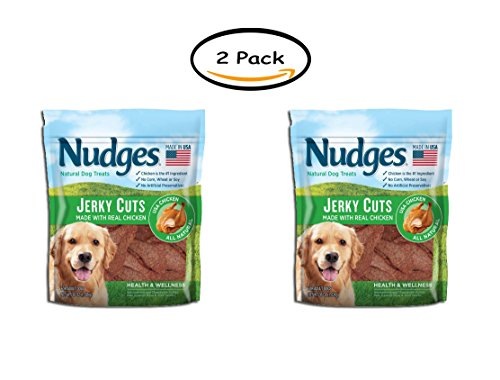 PACK OF 2 - Nudges Health and Wellness Chicken Jerky Dog Treats, 36 oz. by Nudges (Image #3)