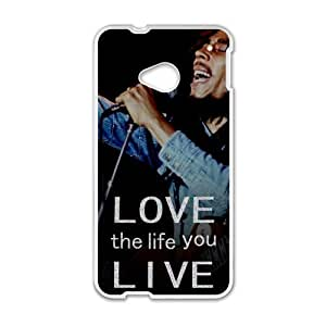 Love the life you live Custom Case for HTC One M7(Laser Technology)