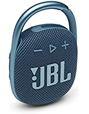 JBL Clip 4 Waterproof Portable Bluetooth Speaker with up to 10 Hours of Battery - Blue