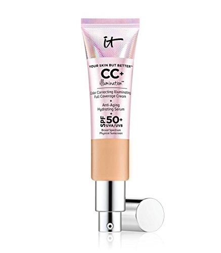 IT Cosmetics, CC+ Illumination SPF 50+, 1.08oz, Medium Tan