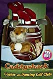 Caddyshack Gopher with Dancing Golf Clubs by Gemmy