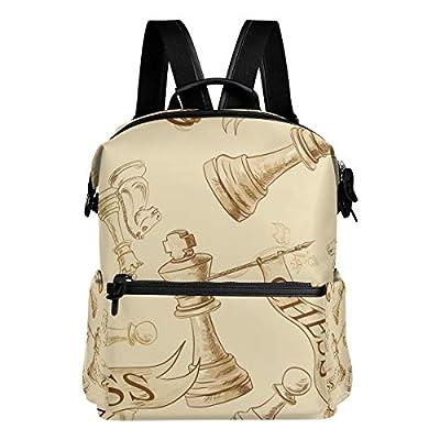 Dragon Sword Chess School Backpack College Bags Daypack Bookbags for Teen Boys Girls