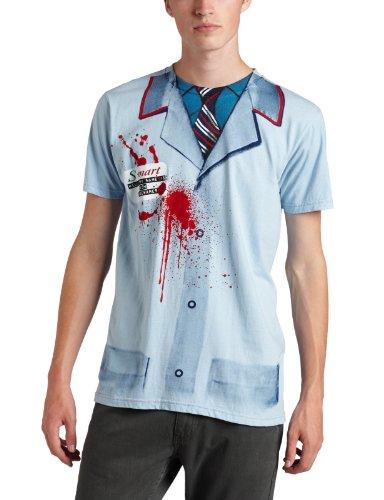 Impact Men's Army Of Darkness S-Mart Uniform T-Shirt, Powder Blue, Large