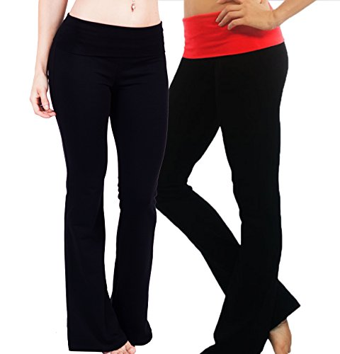 Fold over Waistband Stretchy Cotton blend Multiple product image
