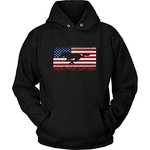 Top Ford Mustang Nation American Muscle Hoodie Sweatshirt hot sale