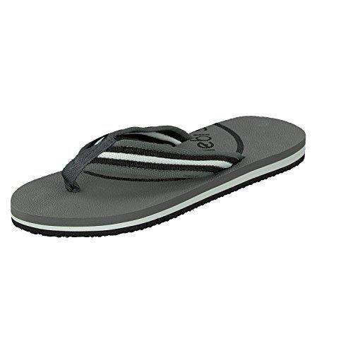 Moda Herren Chanclas Zapatos Siebi's flip Ben Dedo Y Gris De Deportivos Playa wHxYOI