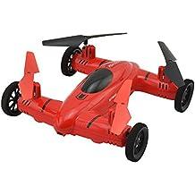 taotuo volando Quadcopter control remoto coche de coche y Quadcopter Drone, Rojo