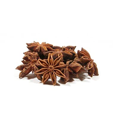 Whole Star Anise Spice Pods - 2Lbs - Bulk Whole Star Anise Asian Anise Pods