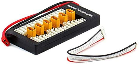 Outletdelocio. Adaptador Cargador balanceador múltiple hasta 6 baterias. Carga y balancea simultaneamente 6 baterías LIPO 2-6S con Conector XT60