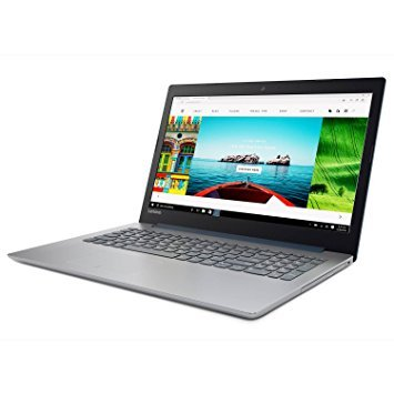 "2018 Lenovo ideapad 320 15.6"" LED-backlit Display Laptop, Intel Celeron N3350 Dual-Core Processor, 4GB RAM, 1TB HDD, DVD-RW, WIFI, Bluetooth, HDMI, Intel HD Graphics 500, Windows 10, Blue"