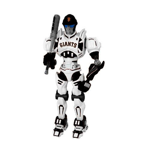 Cleatus Fox (San Francisco Giants FOX Sports Robot - Licensed MLB Baseball Gift)