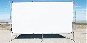 12' x 20' OUTDOOR STANDING HOME THEATER PROJECTION MOVIE SCREEN KIT ~ 1