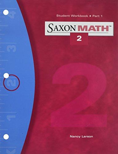 Saxon Math 2: Workbook