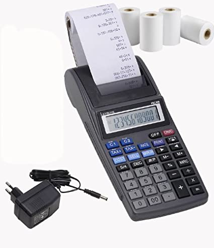 Lexibook-PRCP700 Calculadora Impresora Profesional (PRCP700)