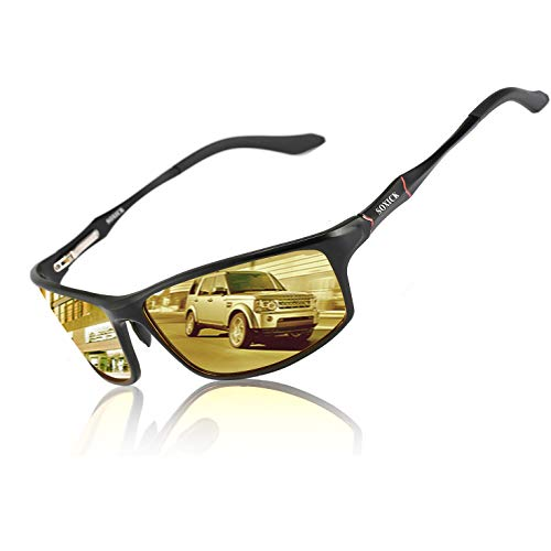 Polarizing Glasses Night Driving Glasses HD Vision Anti Glare Sunglasses
