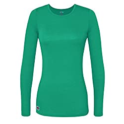 Sivvan Women's Comfort Long Sleeve T-shirtunderscrub Tee - S8500 - Smt - 2x