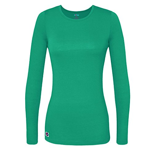 Sivvan Women?S Comfort Long Sleeve T-Shirt/Underscrub Tee - S8500, Spearmint, ()
