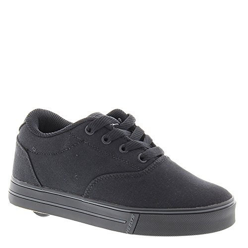 Heelys Launch Skate Shoe (Little Kid/Big Kid),Black Canvas,13 M US Little - Fitness Wayne Retro
