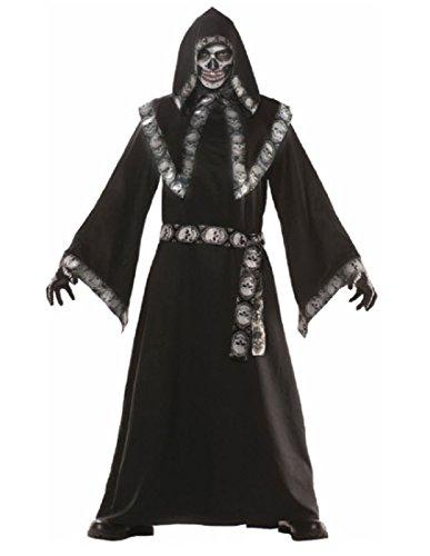 Crypt Keeper Mens Costume, Black/Grey, -