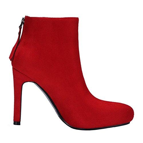 Boot AIYOUMEI Women's Red AIYOUMEI Women's Classic I1v0Iw