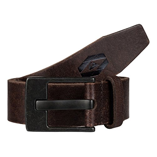 Quiksilver Embossed Belt (Quiksilver Men Revival II Belt Large Dark)