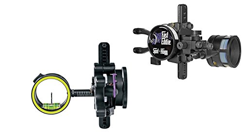 Spot-Hogg Archery Products Spot Hogg Double Pin .019 Fast Eddie Sight, Right Hand, Black (Best Single Pin Adjustable Bow Sight)