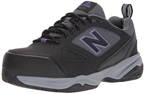 New Balance Women's 627v2 Work Cross Trainer Black/Purple