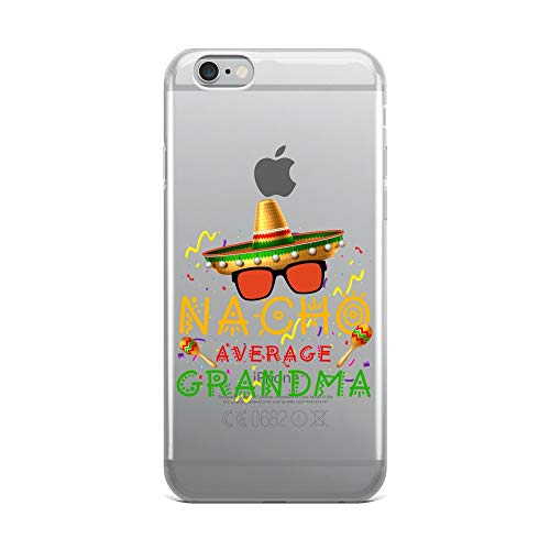 iPhone 6 Plus/6s Plus Pure Clear Case Crystal Clear Cases Cover Nacho Average Grandma Cinco De Mayo Family Matching Transparent