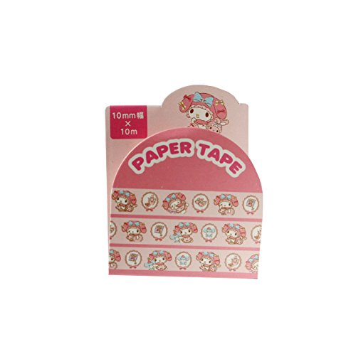(SANRIO My Melody Girly Bow Edition Masking Deco Tape Standard Japan Collection)