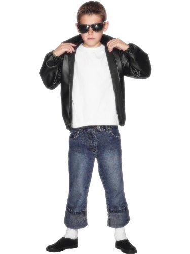 Black Children's Grease T-birds Jacket (Mens T Bird Jacket)
