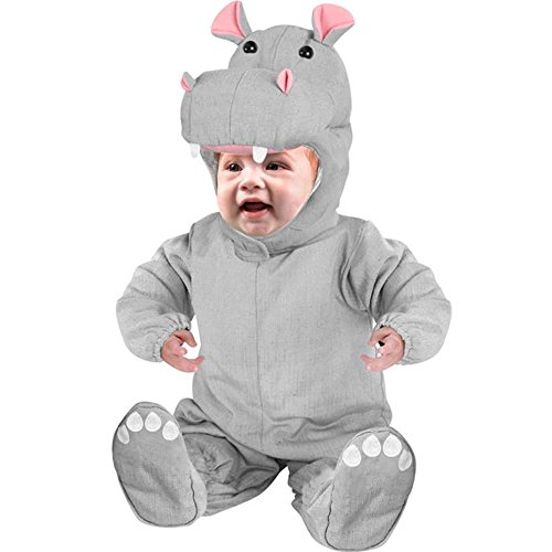 Baby Infant Hippo Costume (Size:6-12M) -