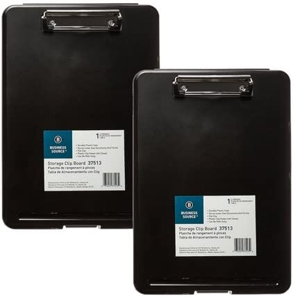 Business Source Plastic Storage Clipboard product image