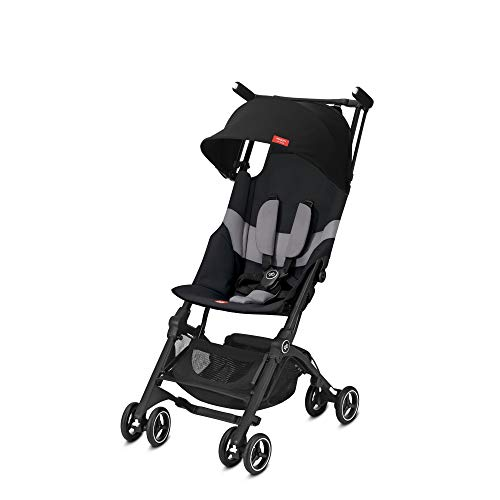 "gb 2019 Pockit+ All-Terrain Y Lightweight Stroller""Velvet Black"" Good Baby Pockit Plus"