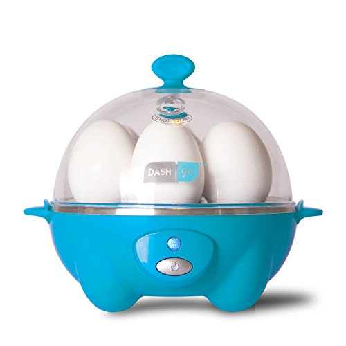 Dash Rapid Egg Cooker: 6 Egg Capacity Electric Egg Cooker for Hard Boiled Eggs, Poached Eggs, Scrambled Eggs, or...