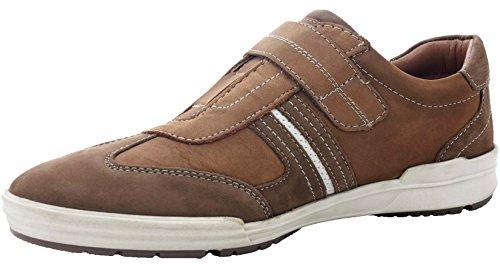 Ara - Zapatillas de Piel para hombre marrón cuero