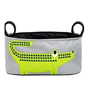 Gaorui Baby Stroller Organizer for Smart Moms Fits All Strollers Premium Deep Cup Holders