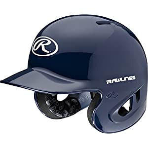 Rawlings 90 MPH College/High School Batting Helmet, Navy, Large