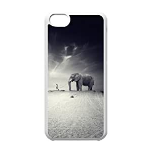Protection Cover Hard Case Of Elephant Cell phone Case For Iphone 5C