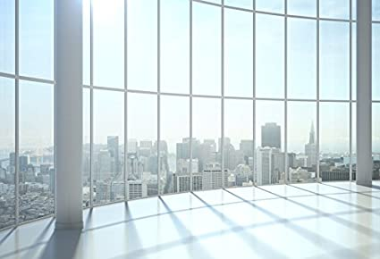 office backdrops. Laeacco Window View Photography Backdrops High Building Office Worker 7x5ft Vinyl Studio Backdrop Sunshine