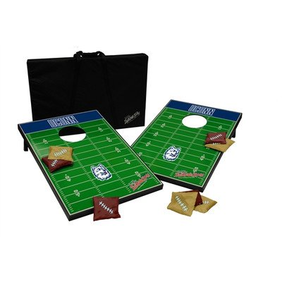 NCAA 10 Piece Cornhole Game Set NCAA Team: Connecticut by Tailgate Toss