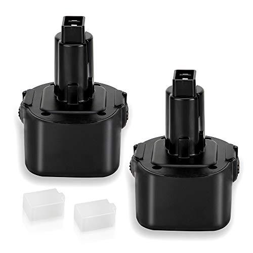- 2 Pack 3.6Ah Ni-MH for Dewalt 9.6 Volt Battery DW9062 Dw9061 DW926 DC750KA DW955K DW955 DW926K-2 DW926K DW902 DW050 DE9062 DE9061 DE9036 DW955K-2 DW050K Replacement for Dewalt 9.6v Battery