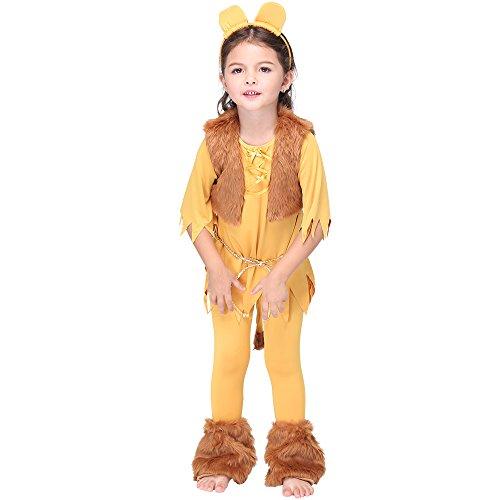 Uleade Kids Child Toddler Lion Halloween Animal Costume