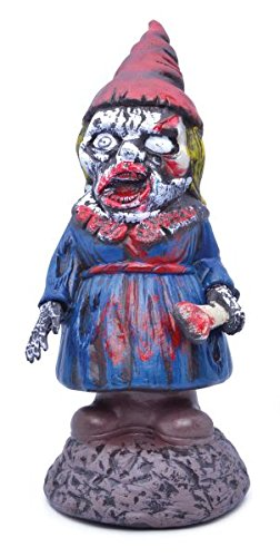 Female Zombie Gnome Decoration