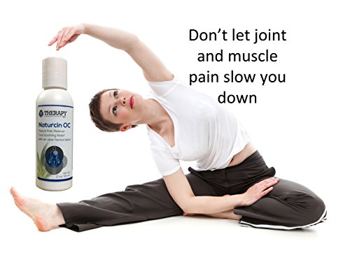 Naturcin OC Topical Pain Reliever – Cool Soothing Relief Therapy With Aloe-Herbal Blend – Best for Knee Joint Pain, Back & Neck Pain, Arthritis, Carpal Tunnel, Tennis Elbow, Sciatica, Sore Muscles